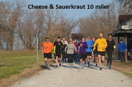 Cheese & Sauerkraut 10 miler