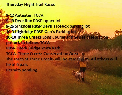 Thursday Night Trail Races