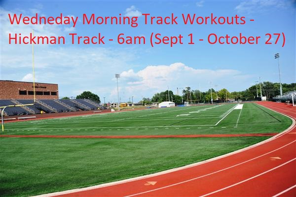 Wednesday Morning Track Workouts